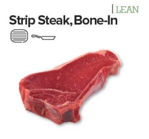 strip steak bone in