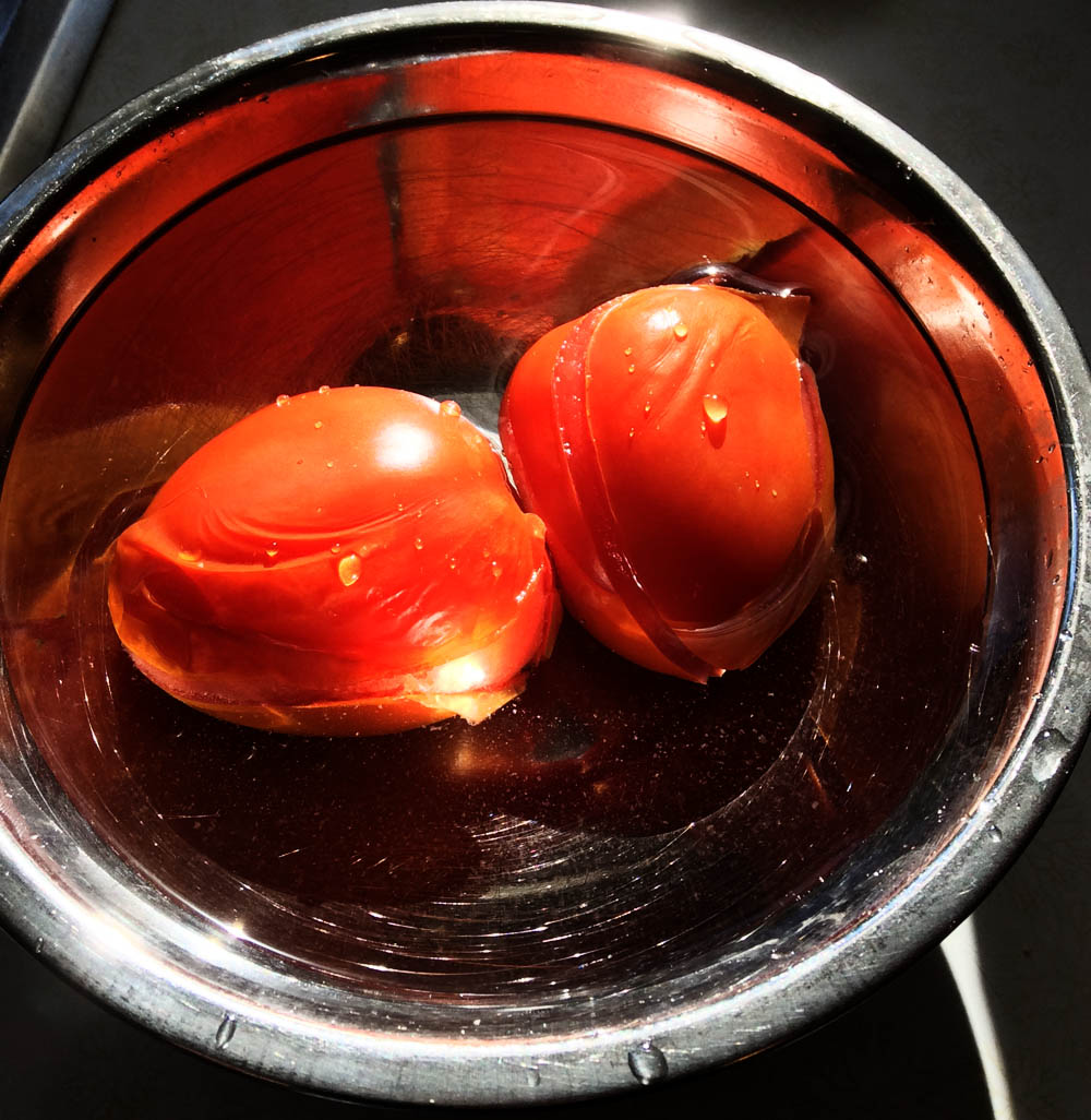 Concasse Tomatoes - How To Make Skinless Tomatoes