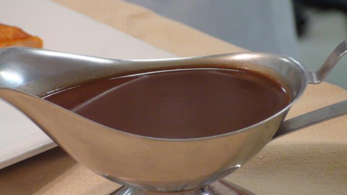 espagnole brown sauce demi glace