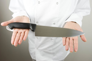 types of kitchen knives and where to apply them