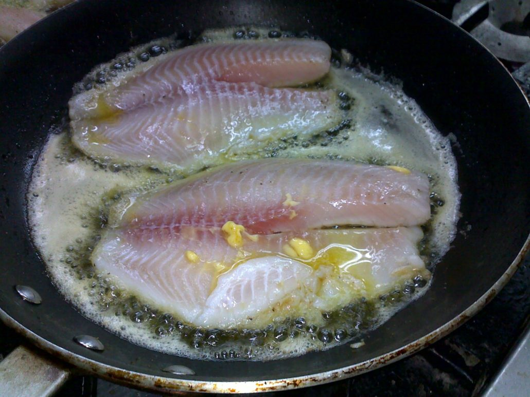 How to cook fish on stovetop or oven the culinary cook for How to bake fish fillet