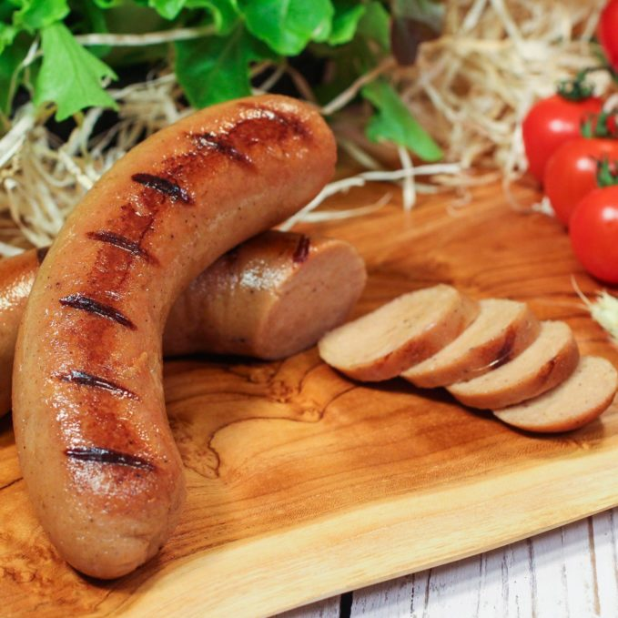 homemade sausages