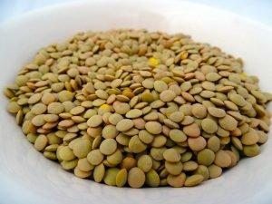 green lentils uncooked