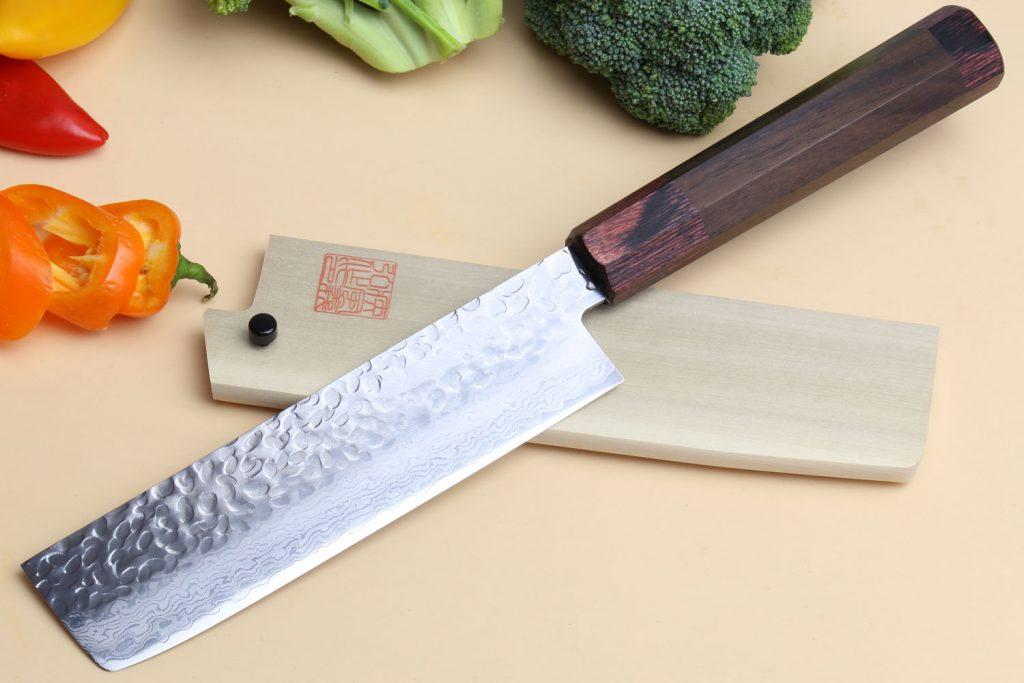 nakiri japanese kitchen knife