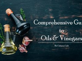 oils and vinegar comprehensive guide